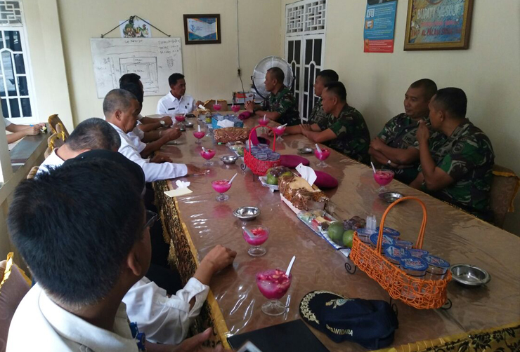 Danbrigif 3 Marinir Piabung Kunjungi Mesuji