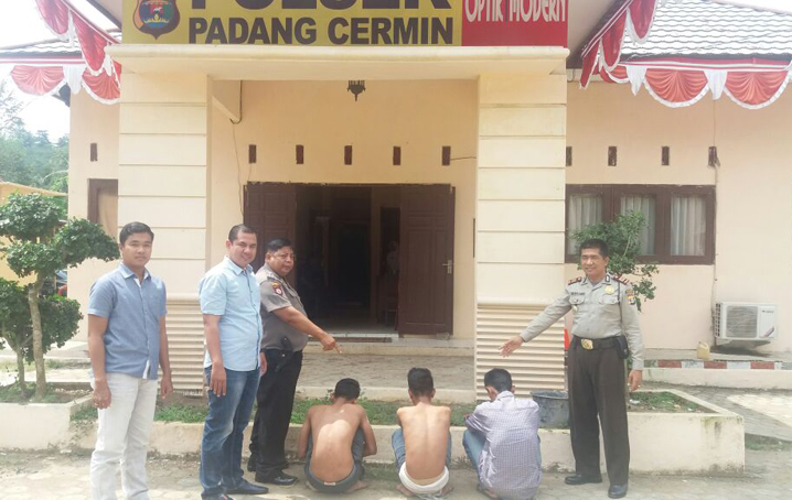 LAMPUNG POST | Dua Pelajar Pelaku Jambret Diringkus Polsek Padang Cermin