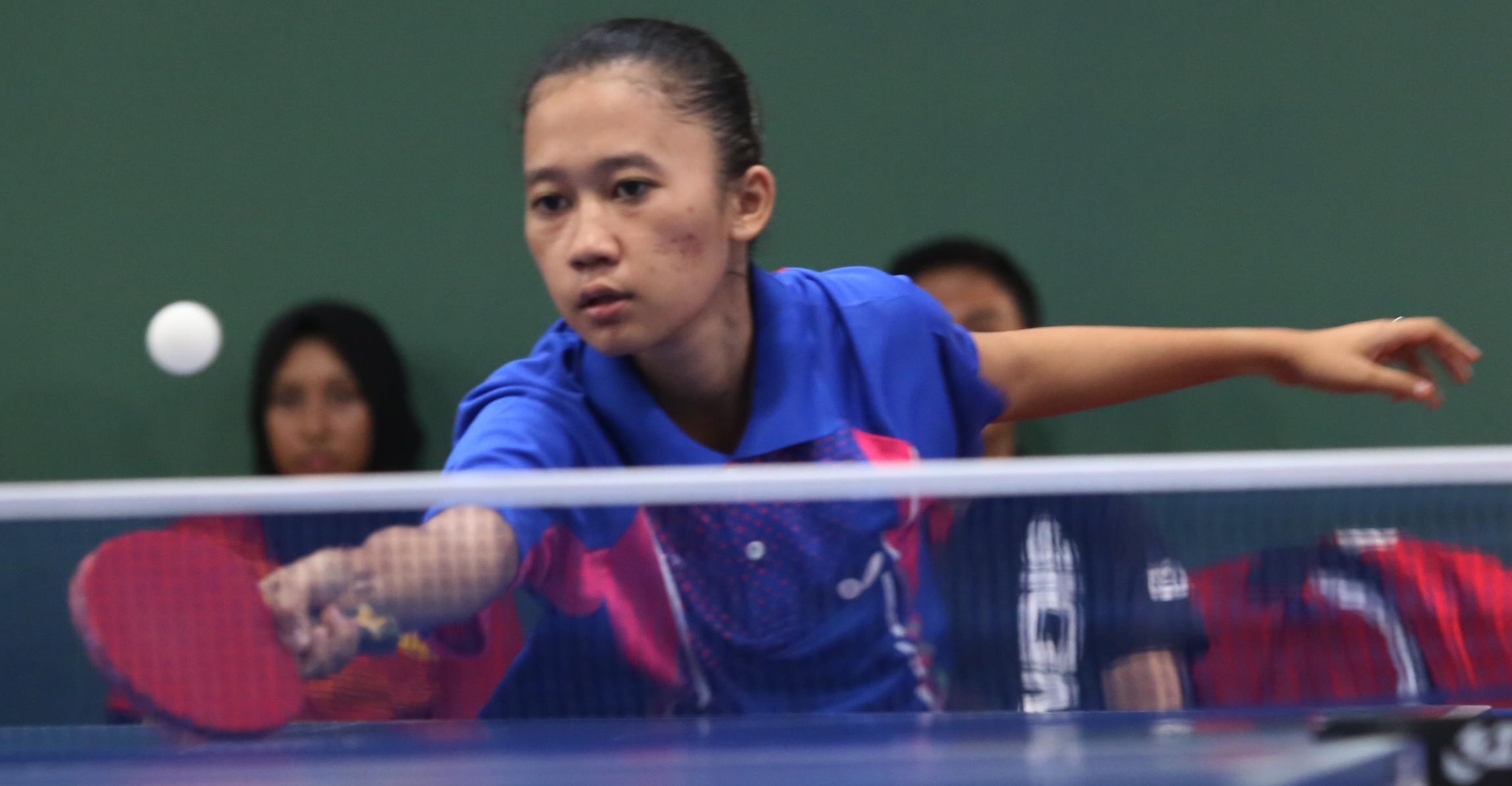 LAMPUNG POST | Tenis Meja Putri Bandar Lampung ke Semifinal