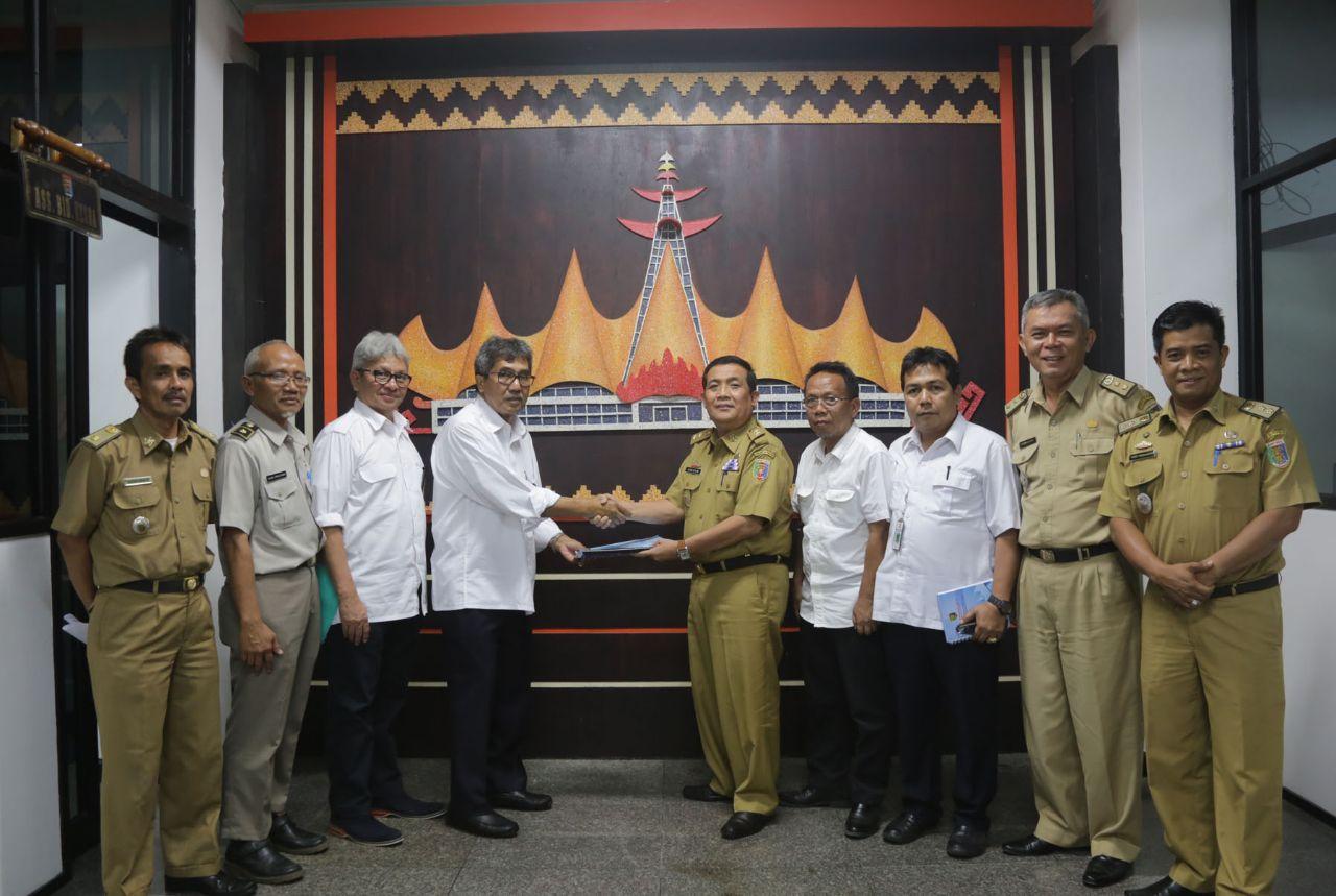 LAMPUNG POST | Gubernur Lampung Yakinkan Presiden Percepat Bendungan Marga Tiga
