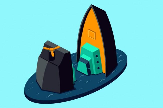 LAMPUNG POST | Kapal Muatan 135 Ton Minyak Goreng Tenggelam di Perairan Toboali
