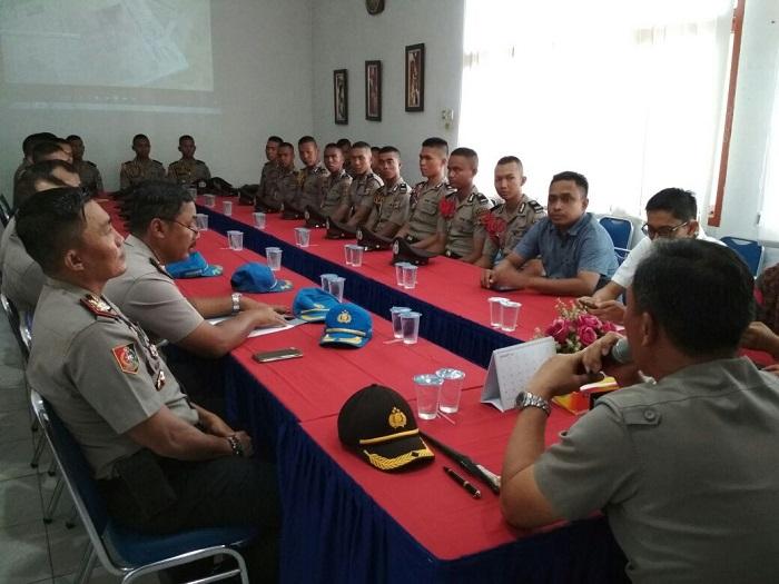 30 Peserta Didik SPN Kemiling Kunjungi Lampung Post