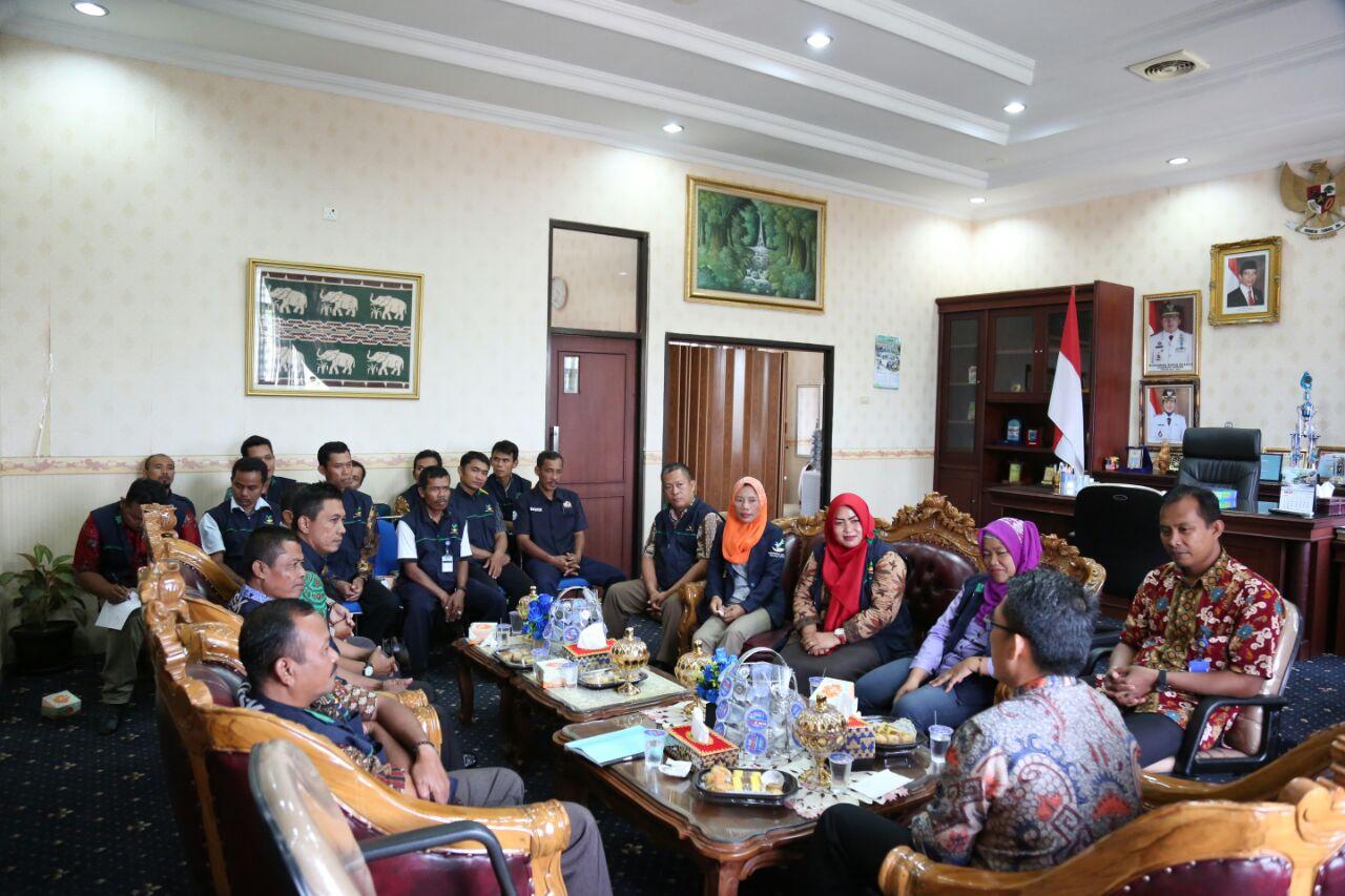 Plt Bupati Lampung Timur Gelar Pertemuan dengan TKSK