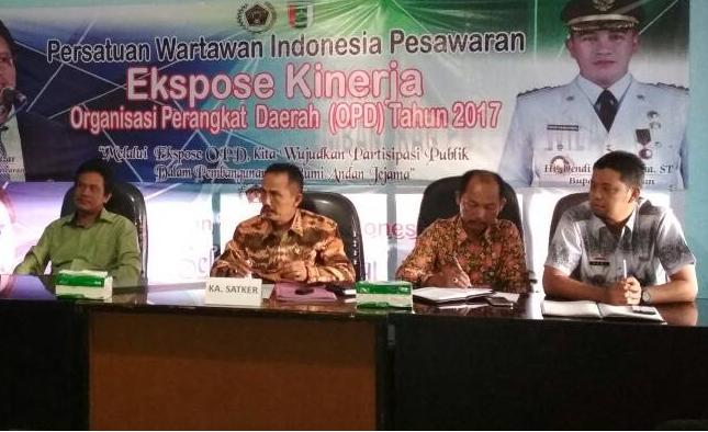 LAMPUNG POST   Inspektorat Pesawaran Periksa 11 Kecamatan