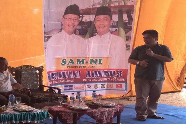 Sambangi Kecamatan, Sam-Ni Kejar Kemenangan