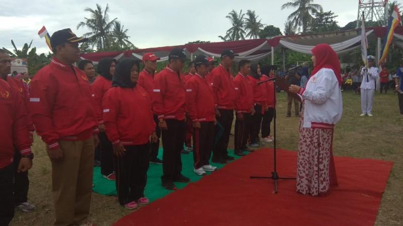 230 Atlet Bersaing dalam Porcam di Kecamatan Telukbetung Timur