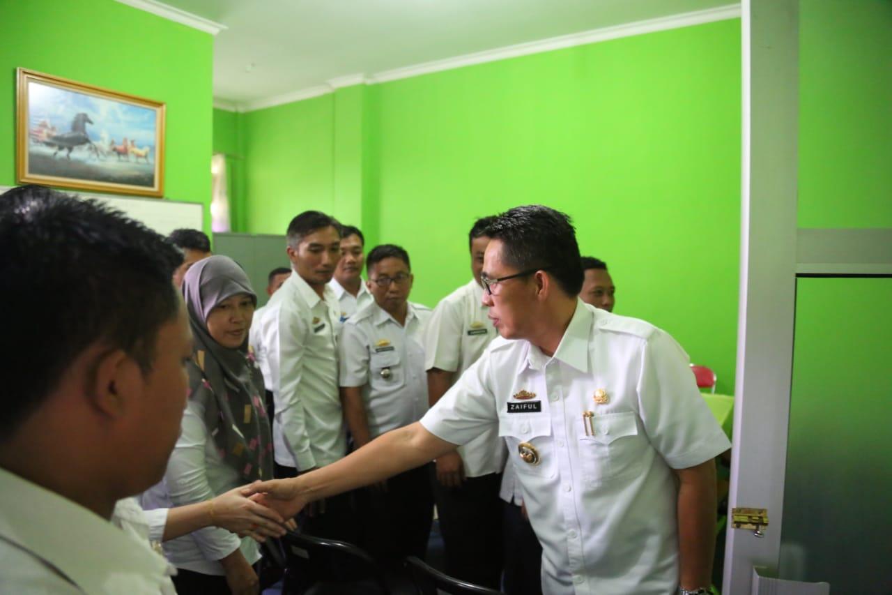 Zaiful Bukhori Gelar Sidak ke SKPD, Tuntut Pegawai Bekerja Profesional