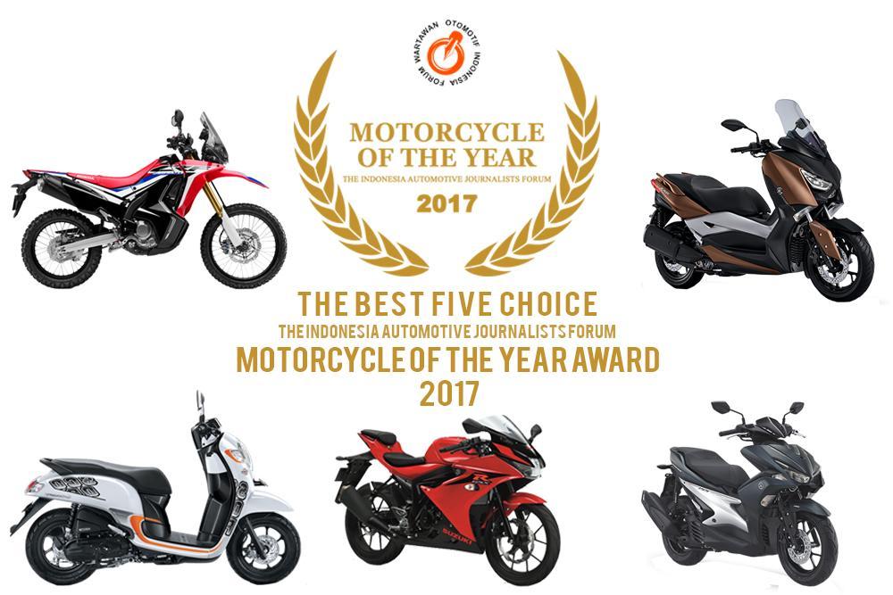 LAMPUNG POST | Lima Model Sepeda Motor Masuk Nominasi Forwot Motorcycle of the Year 2017