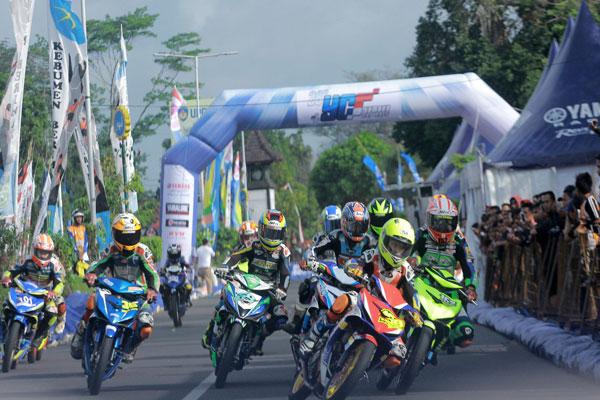 LAMPUNG POST | 148 Starter Ramaikan Yamaha Cup Race di Kebumen