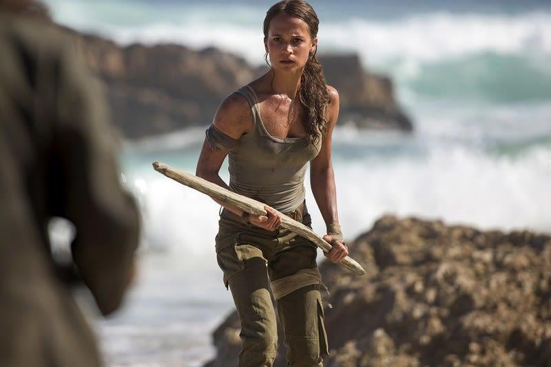 LAMPUNG POST | Aksi Alicia Vikander Menantang Maut di Trailer Kedua Tomb Raider