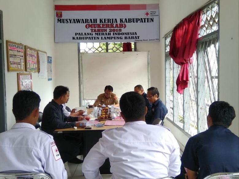 PMI Lambar Laksanakan Musyawarah Kerja