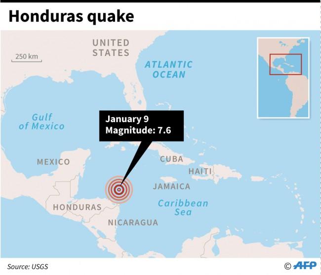 Gempa 7,6 SR Guncang Karibia-Amerika Tengah, Peringatan Tsunami Dikeluarkan