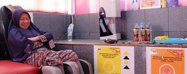 LAMPUNG POST | Bale Santai Honda Lampung, Pulihkan Stamina Pemudik