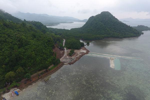 Dinas Pariwisata Tak Keluarkan Tanda Daftar Usaha di Pulau Tegal