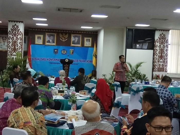 LAMPUNG POST | DJP Kanwil Lampung dan Bengkulu Sosialisasi KSWP