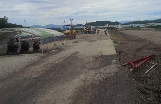 LAMPUNG POST | Anggaran Pembangunan Jalan di Lamsel Meningkat