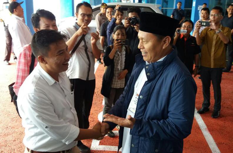 LAMPUNG POST | Akrab dengan LO Herman HN, Mustafa: Kita Berpolitik Santun