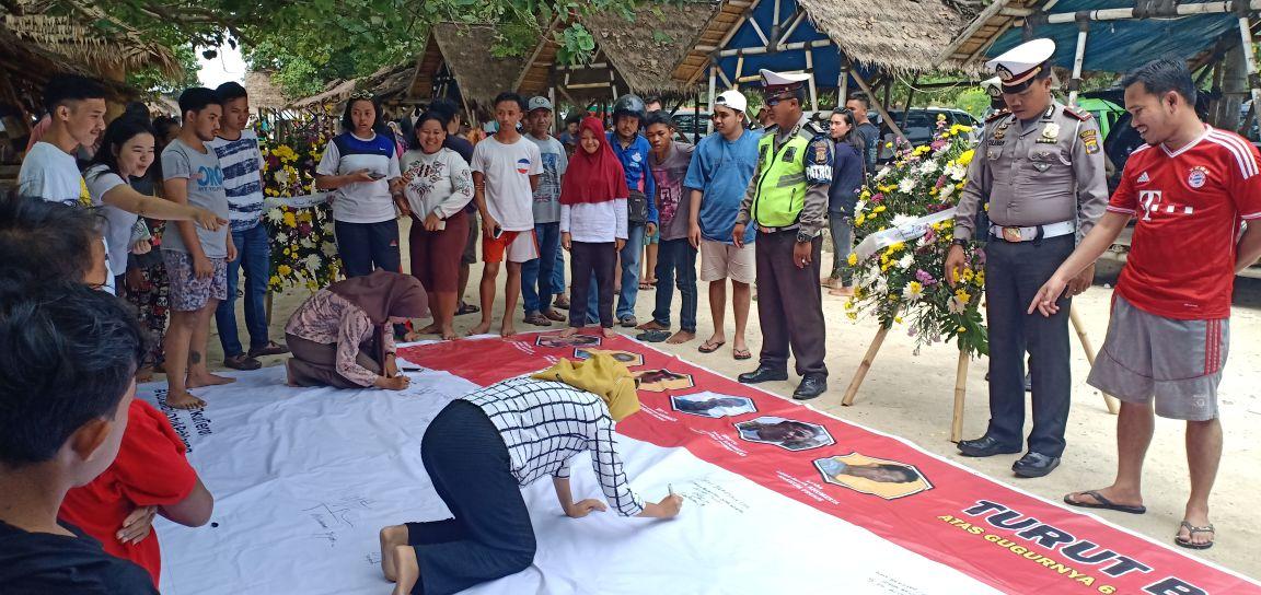Polres Pesawaran Gelar Aksi Save Polri atas Kejahatan Terorisme
