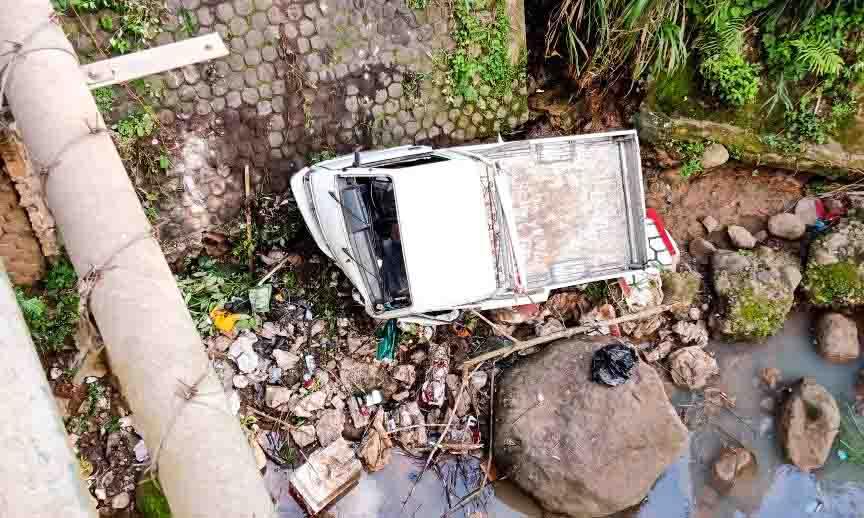 LAMPUNG POST | Begini Nasib Korban Pickup Terjun Usai Kecelakaan