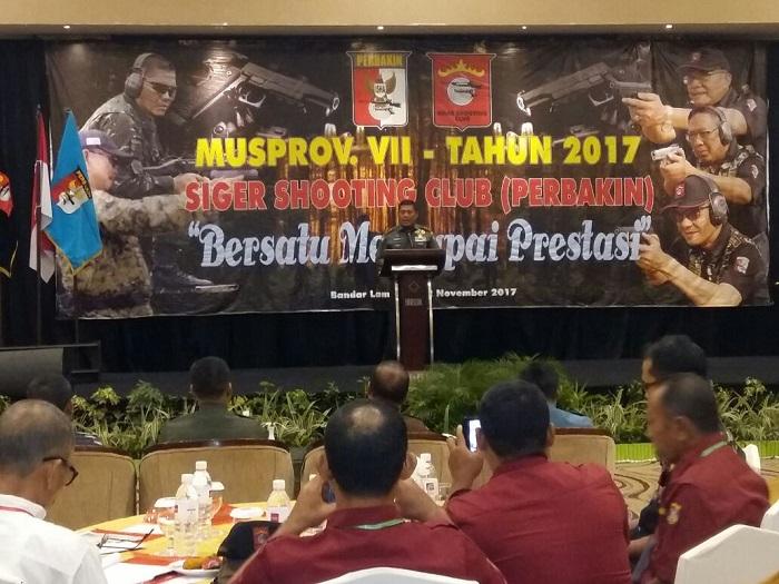LAMPUNG POST   Pangdam II Sriwijaya Hadiri Musprov SSC