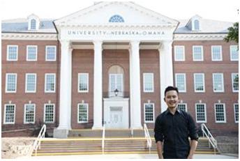 LAMPUNG POST | Putra Lampung Menimba Ilmu di Omaha Nebraska