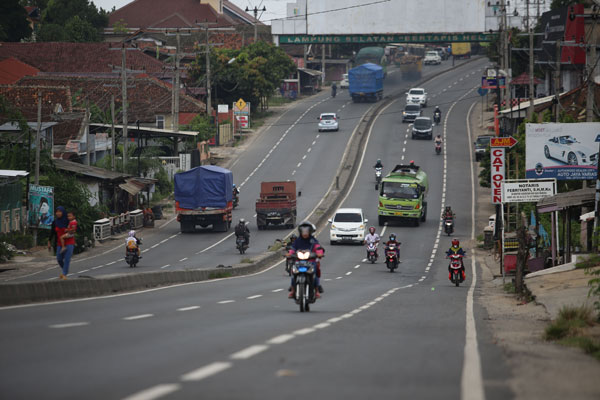 Polda Lampung Petakan Kanalisasi Bypass
