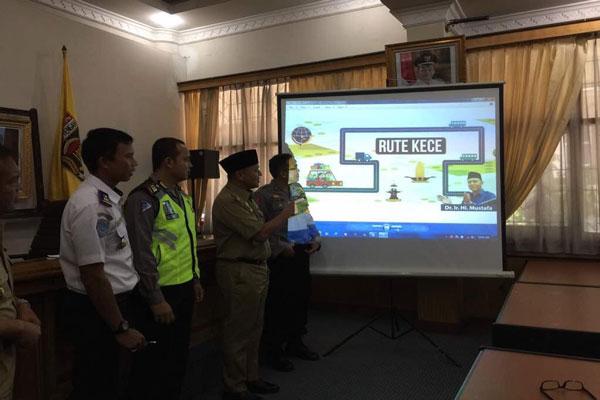 Rute Kece, Pemkab Lampung Tengah Buka 4 Jalur Alternatif Pengurai Kemacetan