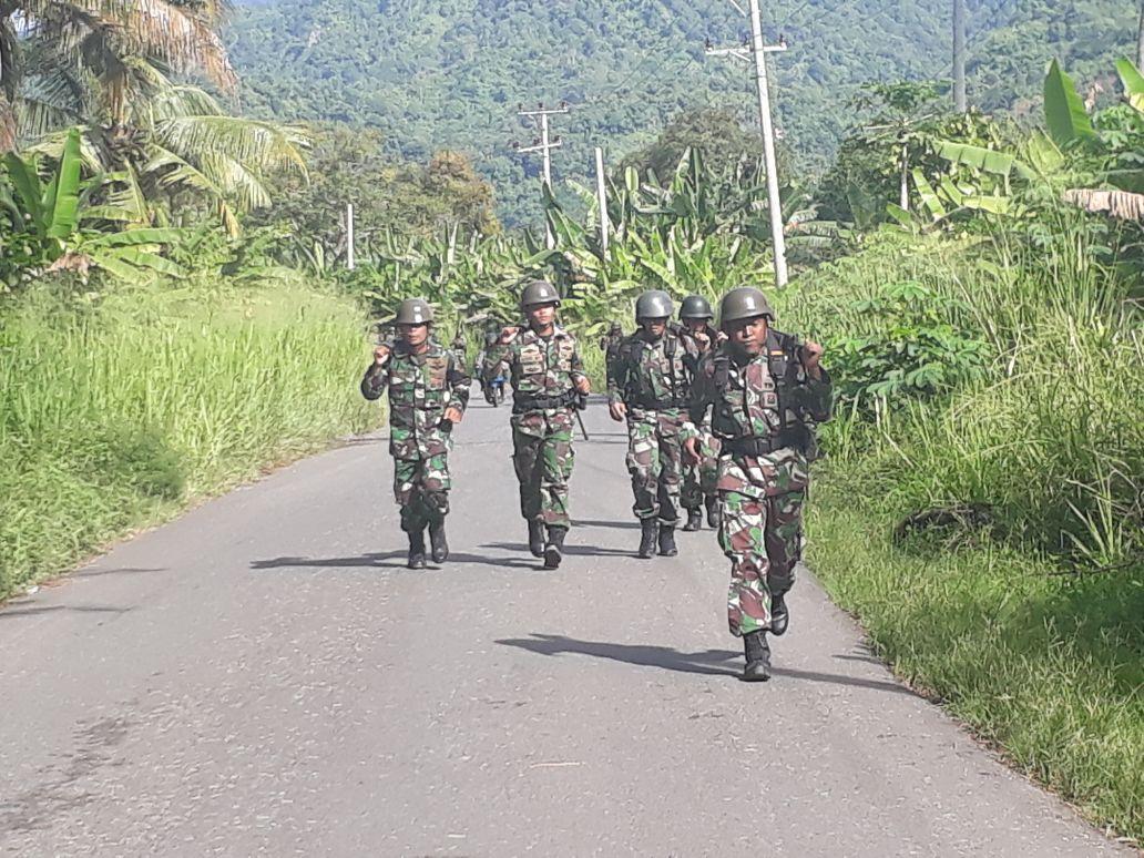 Batalyon Infanteri-7 Marinir Gelar Latihan Uji Nilai Perorangan Dasar
