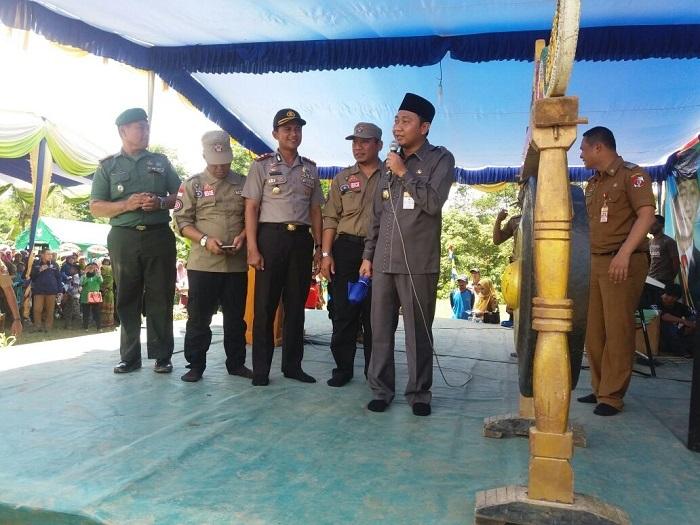 LAMPUNG POST   Karangwaringin Jadi Percontohan Kampung Tanggap Siaga