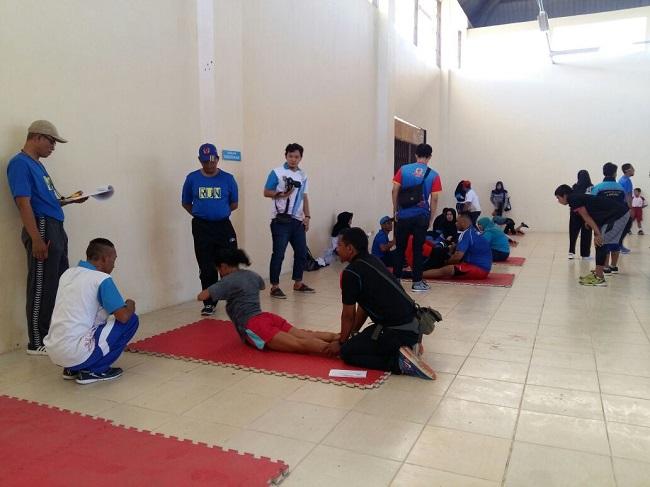 Delapan Cabor Ikuti Tes Fisik di Hari Pertama