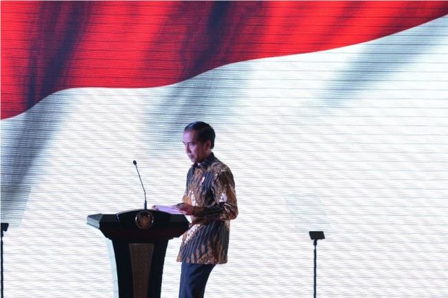 Jokowi Hadiri Peringatan Hari Nyepi 1940 di Cilangkap