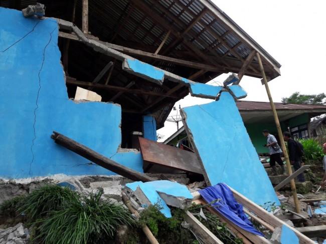 LAMPUNG POST | Gempa 4,4 SR Merusak 316 Rumah di Banjarnegara