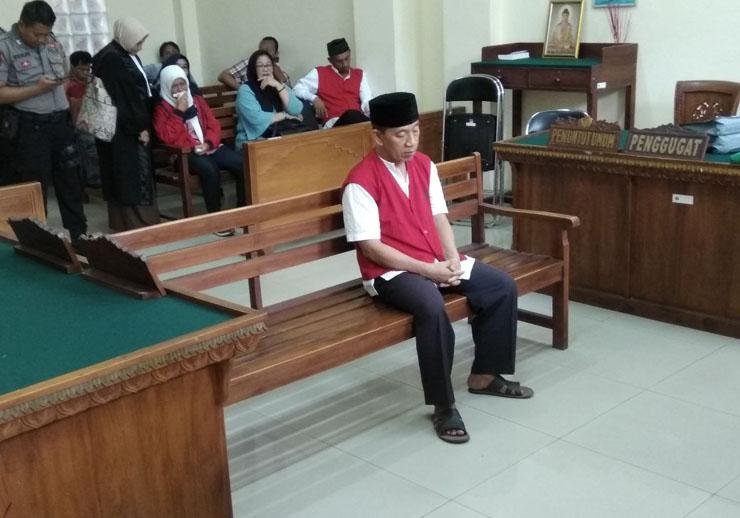 LAMPUNG POST | Sidang Pembunuhan Debt Collector Diwarnai Isak Tangis Keluarga
