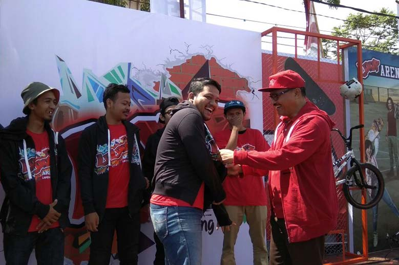 Loop Arena, Upaya Telkomsel Rangkul Anak Muda di Lampung