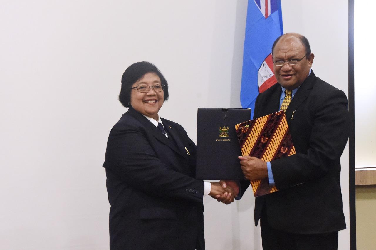 LAMPUNG POST | Kerjasama Kehutanan dengan Fiji,Indonesia akan Kirimkan Bambu Terbaik