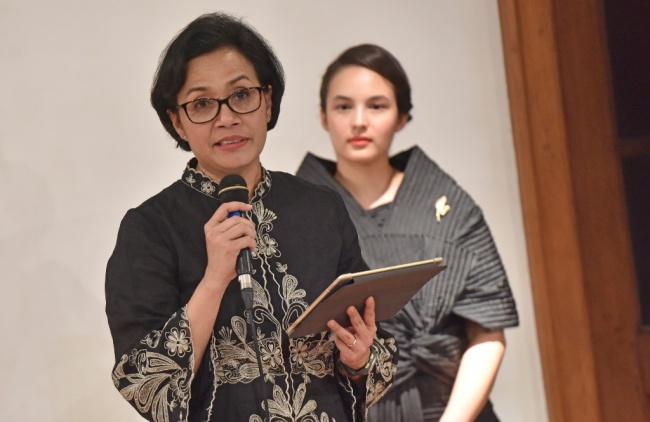 LAMPUNG POST   Sri Mulyani Belum Puas Meski S&P Sudah Naikkan Peringkat Indonesia