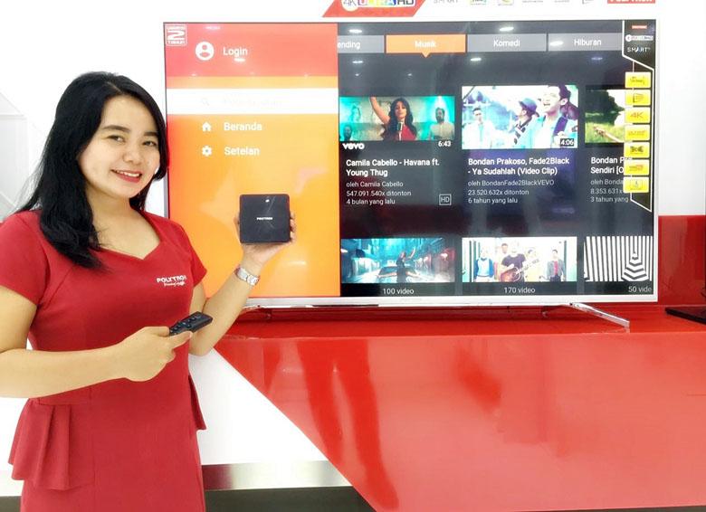 LAMPUNG POST | Polytron Luncurkan Smart TV 4K