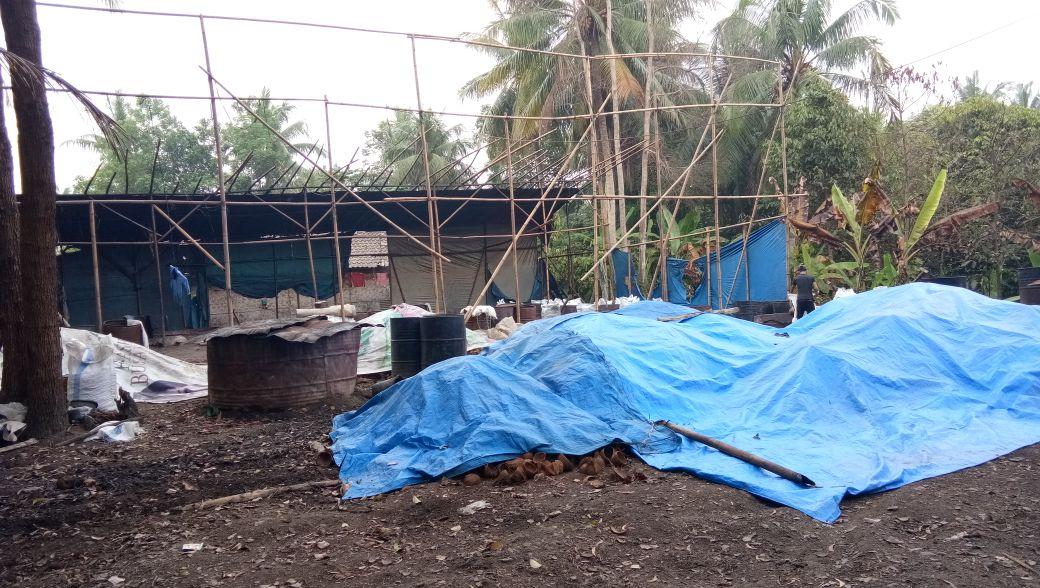 Produksi Arang di Sukaraja Diduga Belum Ada Izin Lingkungan