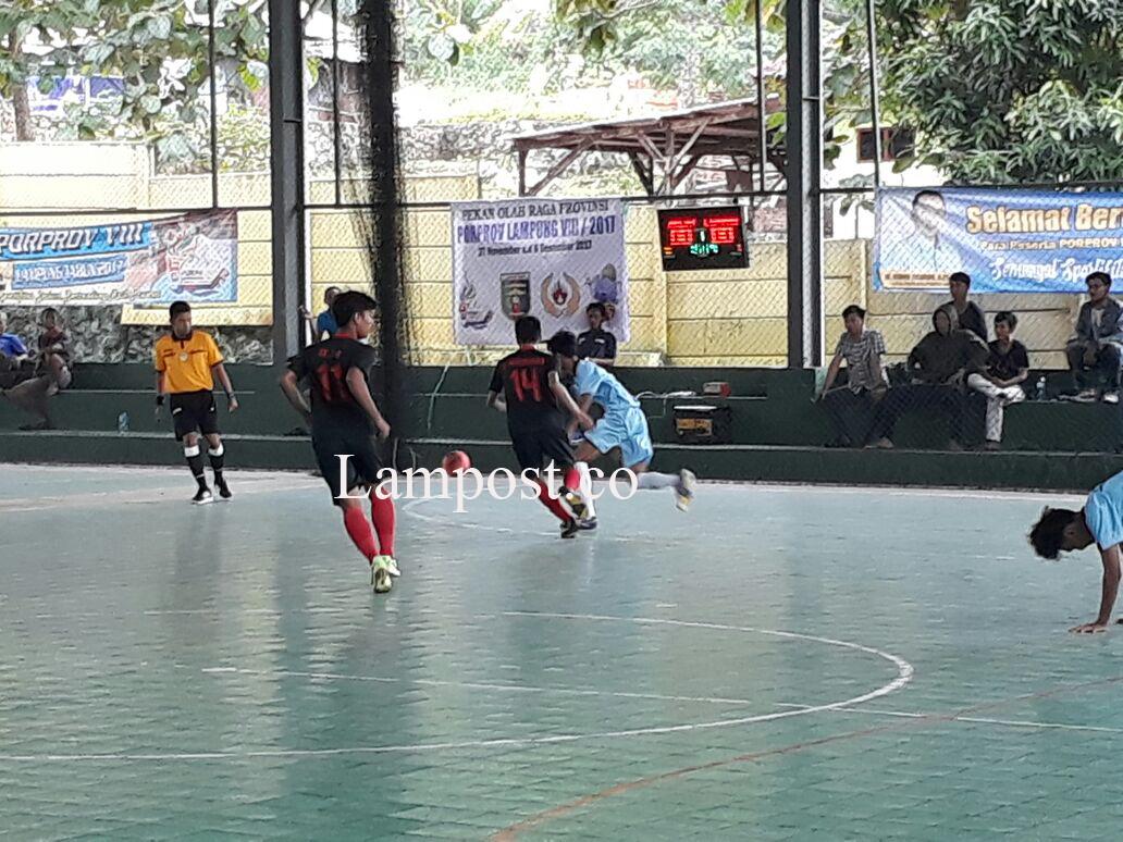 Tim Futsal Metro Libas Lamtim dengan Skor (9-1)