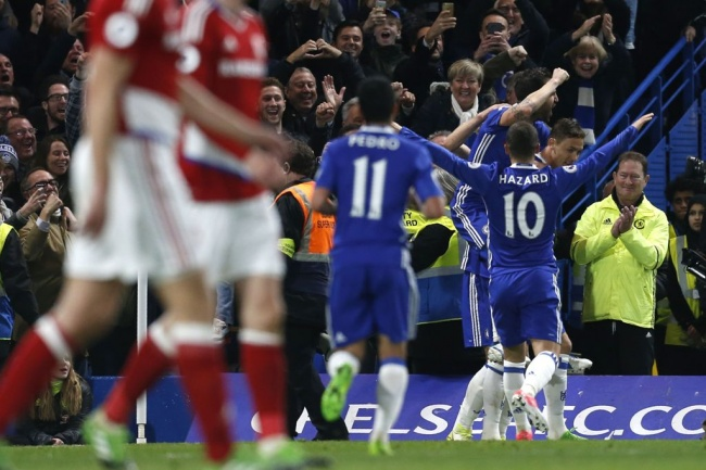 LAMPUNG POST | Depak Middlesbrough dari Liga Primer, Chelsea Diambang Juara
