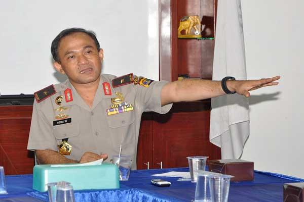 Presiden Lantik Mantan Kapolda Lampung Heru Winarko sebagai Kepala BNN pada 1 Maret