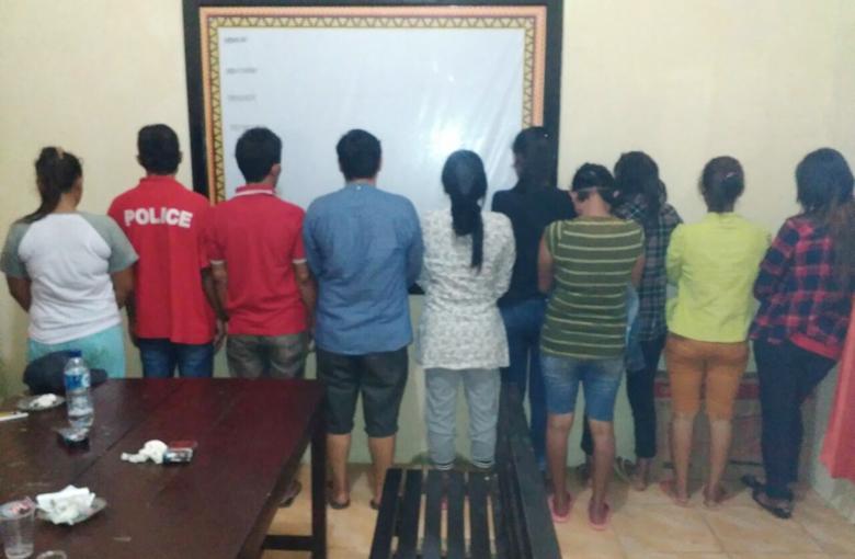 Polisi Gerebek Pesta Sabu di Cafe Way Kanan, 12 Pengunjung Diamankan
