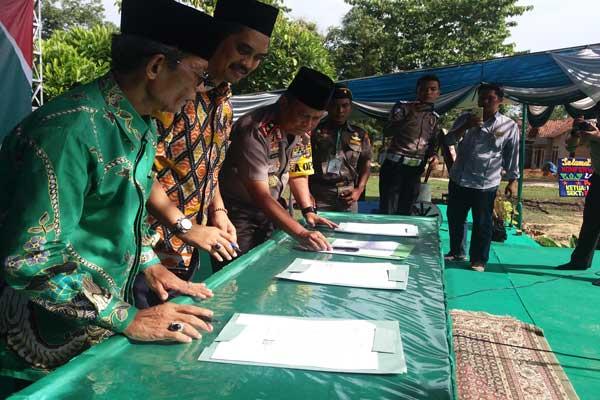 Dua Calon Ketua PWNU Lampung Berebut 80 Suara