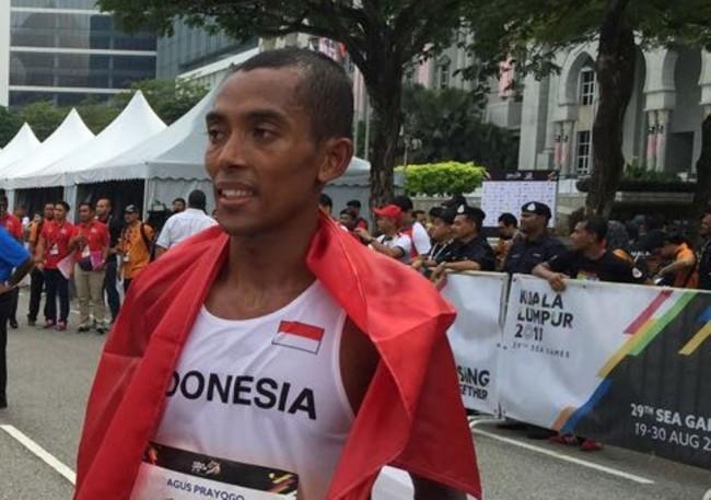 LAMPUNG POST   Marathon Sumbang Medali Perak Perdana di SEA Games 2017