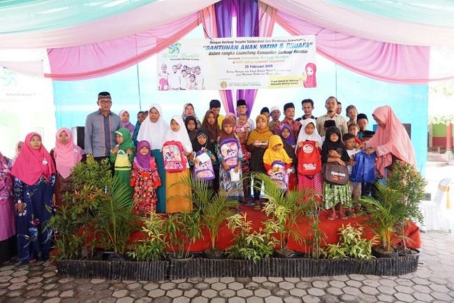 Kombi Lampung Resmikan Sukarelawan Rumbia