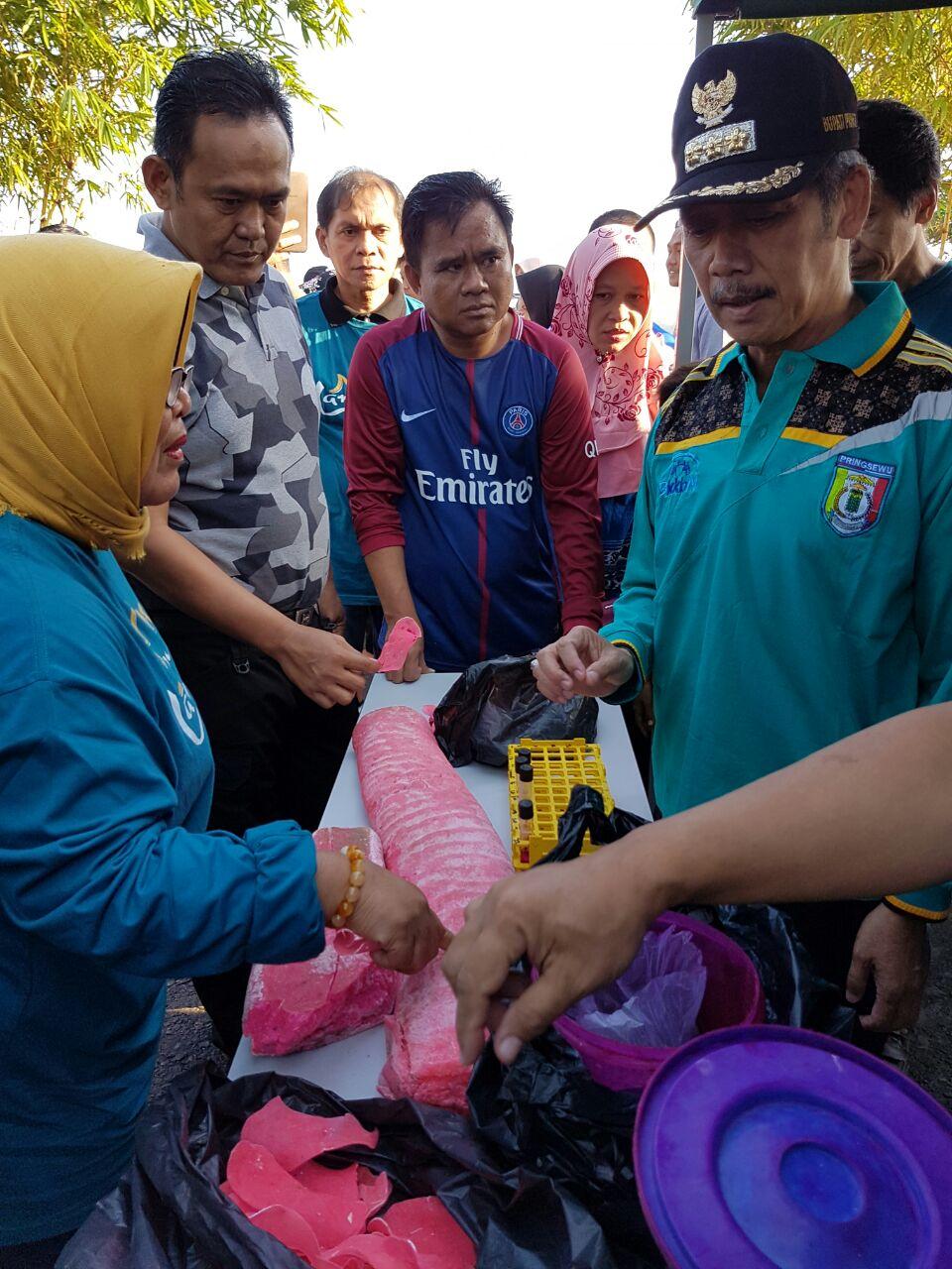 BBPOM Bandar Lampung Akan Telusuri Penjual Rhodamin B di Pringsewu