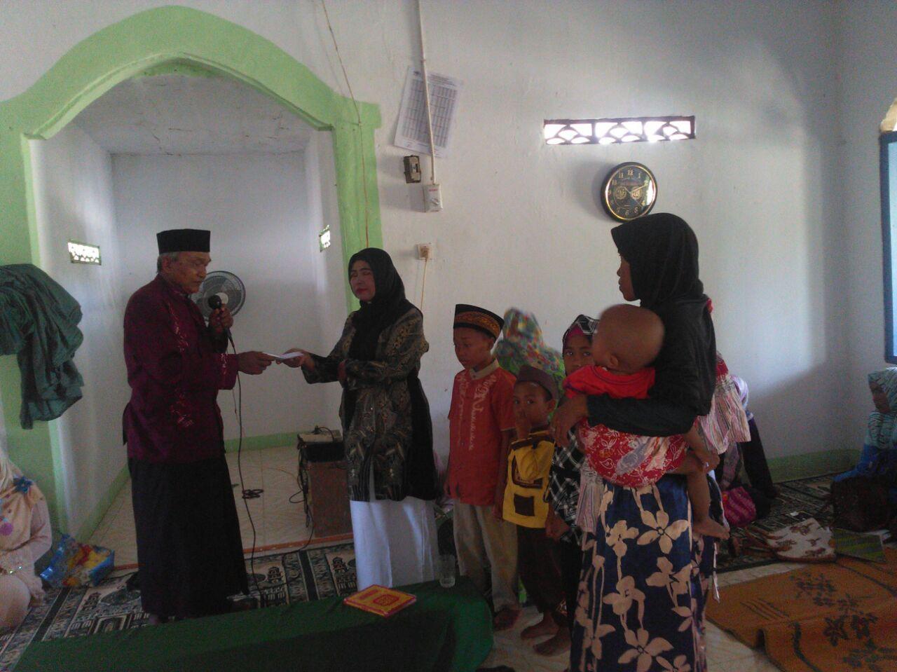 Pemuda Pemudi Lampung Santuni Anak Yatim di Lamtim, Bantuan dari Gubernur