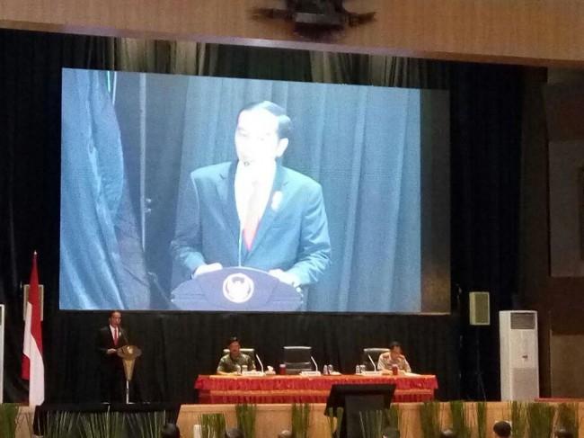LAMPUNG POST | Presiden Puji Kinerja TNI-Polri Amankan Pemilu