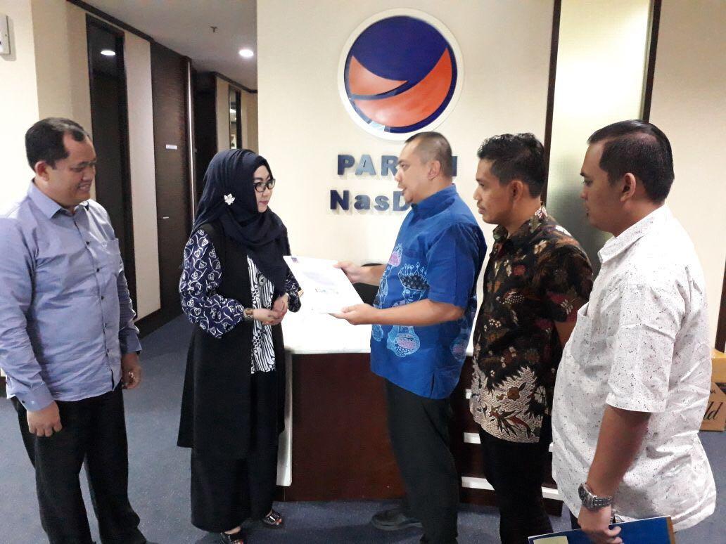 NasDem Usung Dewi Handajani-Syafi'i di Pilkada Tanggamus