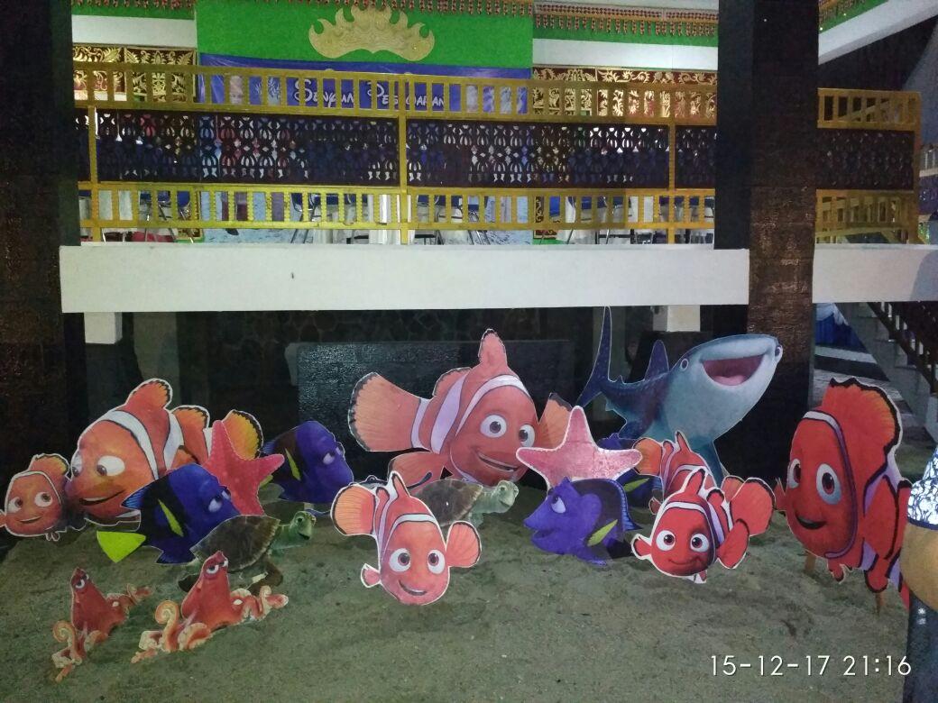 LAMPUNG POST | Ikan Nemo Jadi Ikon Anjungan Pesawaran